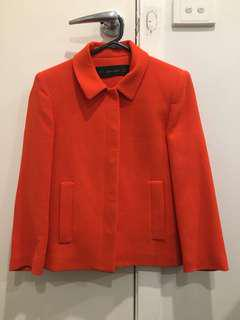 Zara basic Bright crop jacket - size S