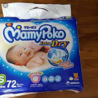 Mamypoko diapers S size