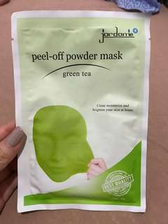 Green Tea Peel Off Powder Mask