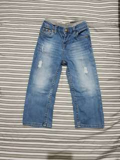Levis tattered Pants
