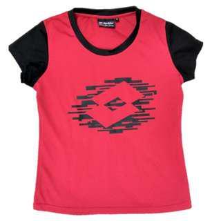 Lotto Unisex Red Sports Training T-Shirt size M#mcsfashion