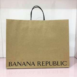 Banana Republic paper bag
