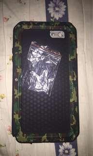 Shockproof Platinum case for iphone 6splus or 6plus