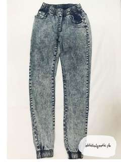 Acid Washed Denim Jeans in Style #2