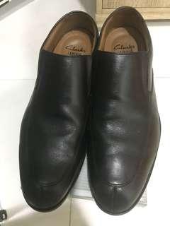 Clarks Cushion Plus leather shoes