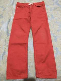 Red Pants H&M