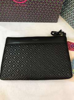 Original ready stock Tory Burch Women Fleming Pouch Wallet