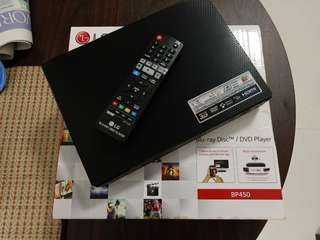 LG BP450 Blueray Player for sale
