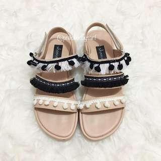 Sandal boho / sepatu / flatshoes