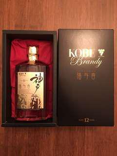 Kobe Brandy whiskey 12年 神戶福與香威士忌 500ml