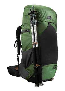 Trek 700 Men's 70+10 Mountain Hiking Backpack - Olive Green