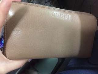 Gucci銀包 有盒 8成新