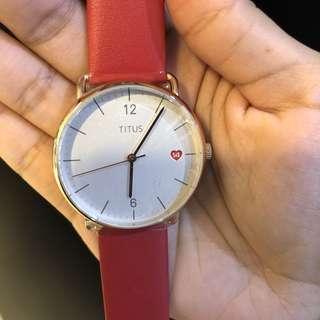 超靚色😍原廠正貨100%real and new titus女裝錶💕找我可有7折價1456購買😘