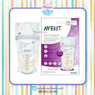 ‼️RESTOCK‼️AVENT Breast Milk Storage Bags 25s (6oz/180ml)