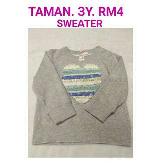 3y sweater