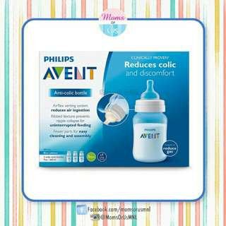 ‼️RESTOCK‼️AVENT Anti-Colic Polypropylene bottle 9oz 3s
