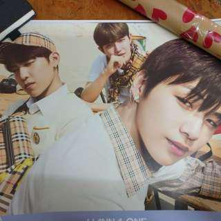 Wanna One Triple Position Poster