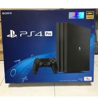 New Sony PlayStation 4 Pro - PS4 Pro 1TB Console