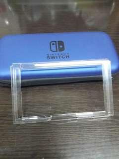 深藍色switch機套連透明機殼