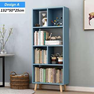 🚚 Modern Minimalist Bookcase