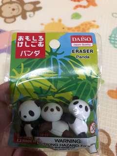 Eraser Panda (Daiso Japan)