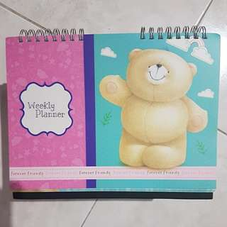 Forever Friends Weekly Planner