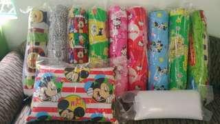 Hotdog pillows for kids made of uratex foam
