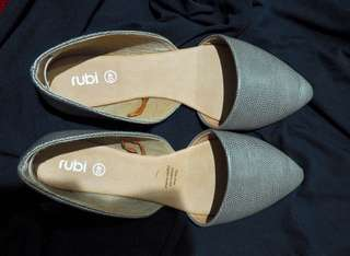 Rubi grey flat shoes - preloved