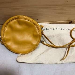 Anteprima Yellow Leather Crossbody