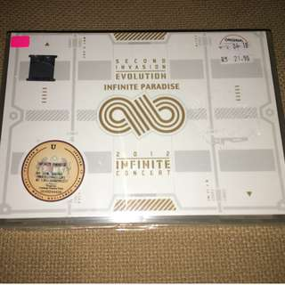 Infinite - The Second Invasion (CD+2DVD)