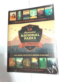 (Travel) 59 Illustrated National Parks 100th Anniversary
