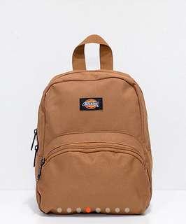 [徵]Dickies mini backpack 啡色!