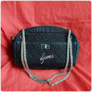 ✔CHANEL REISSUE CANVAS QUILTED CHAIN SLING BAG