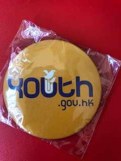 Youth.gov.hk襟章