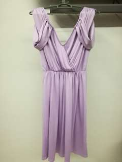 Lash Purple Dress