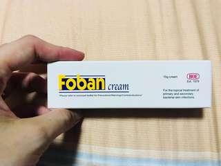 Foban cream antibiotic