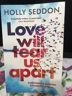 Holly seddon - love will tear us apart
