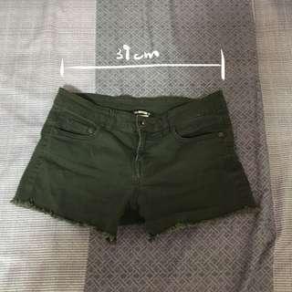 🚚 墨綠色短褲