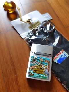 Japanese souvenir mini lighter