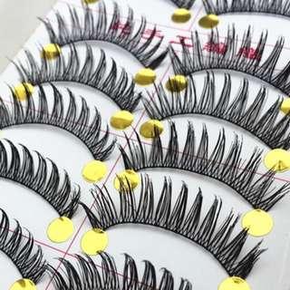 🚚 Brand new top and bottom false eyelashes set