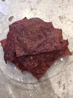 炭燒豬肉干$98/1磅