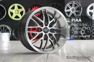 PIA RING 16X7,5/8,5 HOLE 8X100-114,3