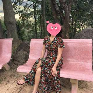 Zara Maxi Sleeve Dress