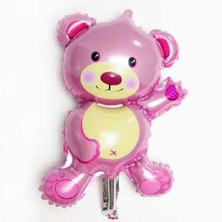 Mini bear good material foil balloon