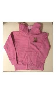 Girls Pink Hoodie/Jacket