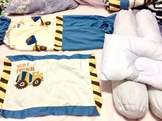 Baby boy crib set. (Take all)