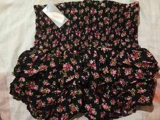 Forever21 mini floral skirt