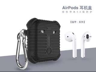 防水防撞AirPods case 帶扣可掛身🤗