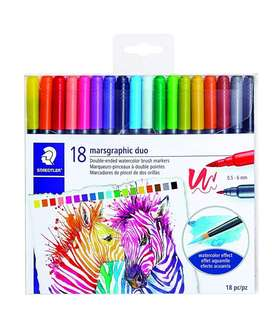 Staedtler double ended watercolor brush marker
