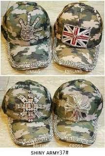 Topi bling bling kece